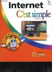 Internet C'Est Simple Edition Gold 3e - Couverture - Format classique
