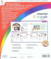 Internet C'Est Simple Edition Gold 3e - 4ème de couverture - Format classique