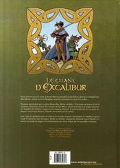 Le chant d'Excalibur t.2 ; le sidhe aux mille charmes - 4ème de couverture - Format classique