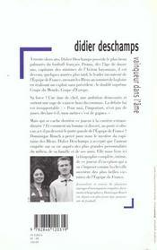 Didier Deschamps Vainqueur Dans L'Ame - 4ème de couverture - Format classique