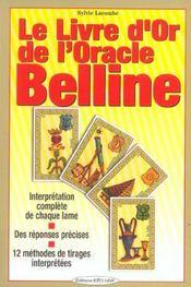 Le Livre D'Or De L'Oracle Belline - Intérieur - Format classique