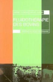 Fluidotherapie des bovins - Intérieur - Format classique