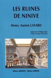 Les ruines de Ninives - Couverture - Format classique