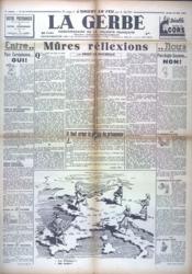 Gerbe (La) N°46 du 22/05/1941 - Couverture - Format classique