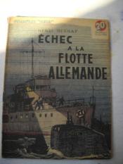 Echec A La Flotte Allemande - Couverture - Format classique
