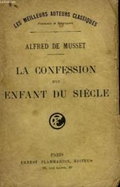La Confession D'Un Enfant Du Siecle. - Couverture - Format classique