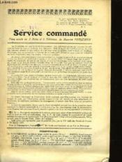 Service Commande - Couverture - Format classique