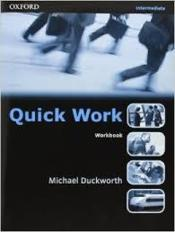 Vente  Quick work intermediate: workbook  - Hollett