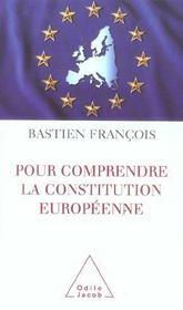 Pour Comprendre La Constitution Europeenne - Intérieur - Format classique