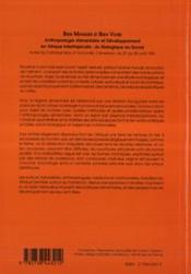 Bien Manger Et Bien Vivre Anthropologie Alimentaire - 4ème de couverture - Format classique