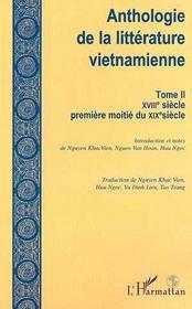 Anthologie De La Litterature Vietnamienne T.2 ; Xviii-Premiere Moitie Du Xix Siecle - Intérieur - Format classique
