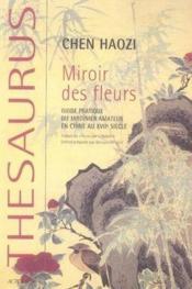 Miroir des fleurs - Couverture - Format classique