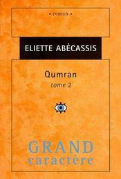 Qumran T.2 - Couverture - Format classique
