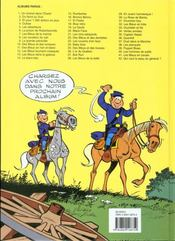 Les tuniques bleues t.18 ; blue retro - 4ème de couverture - Format classique