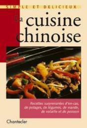 La Cuisine Chinoise - Couverture - Format classique