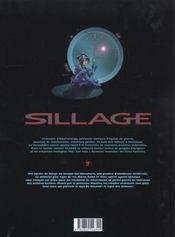 Sillage t.4 ; le signe des démons - 4ème de couverture - Format classique