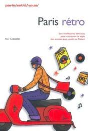Paris retro - Couverture - Format classique