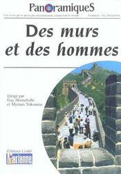 Panoramiques ; Des Murs Et Des Hommes - Intérieur - Format classique