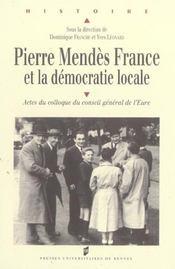 Pierre Mendes France Et La Democratie Locale - Intérieur - Format classique