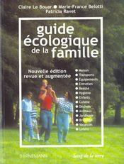 Le nouveau guide ecologique de la famille - Intérieur - Format classique