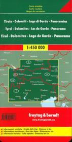 Tyrol Dolomites Lake Gardapanorama - 4ème de couverture - Format classique