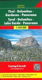 Tyrol Dolomites Lake Gardapanorama - Couverture - Format classique