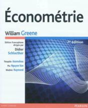 Vente livre :  Econometrie, 7e Edition  - William Greene