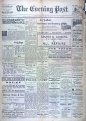 Evening Post (The) N°276 du 24/05/1941 - Couverture - Format classique
