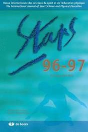 Staps N.96/97 - Couverture - Format classique