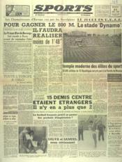 Sports N°135 du 21/08/1946 - Couverture - Format classique