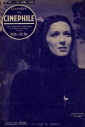 Cahier Du Cinephile N°99 - Colomba - Couverture - Format classique