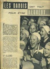Les Danois Ont Tout Pour Etre Heureux ... N°747 - Couverture - Format classique