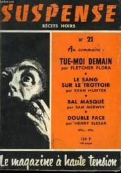 Suspense - Recit Noirs - N°21 - Couverture - Format classique