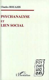 Psychanalyse Et Lien Social - Intérieur - Format classique