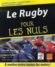 Le rugby pour les nuls - Intérieur - Format classique