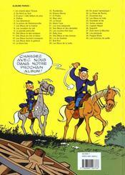 Les tuniques bleues t.19 ; le David - 4ème de couverture - Format classique