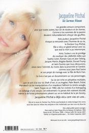 Les larmes bleues - 4ème de couverture - Format classique