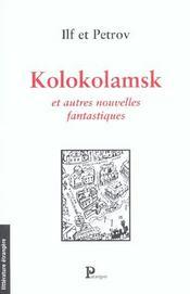 Kolokolamsk Et Autres Nouvelles Fantastiques - Intérieur - Format classique