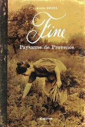 Fine, paysanne de provence - Intérieur - Format classique