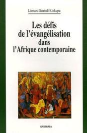 Les défis de l'évangélisation dans l'Afrique contemporaine - Couverture - Format classique