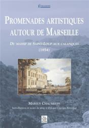 Promenades artistiques autour de marseille - Couverture - Format classique