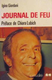 Journal de feu - Couverture - Format classique