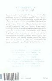Michel Foucault - 4ème de couverture - Format classique