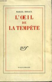 L'Oeil De La Tempete. - Couverture - Format classique