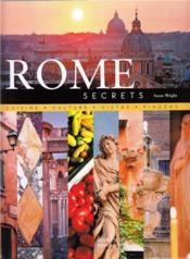 Rome Secrets /Anglais - Couverture - Format classique