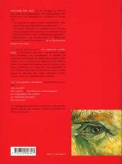 Histoire Des Arts - 4ème de couverture - Format classique