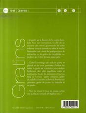 Gratins - 4ème de couverture - Format classique