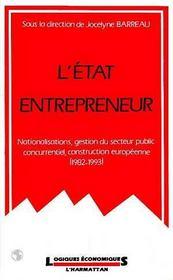 Etat Entrepreneur - Intérieur - Format classique