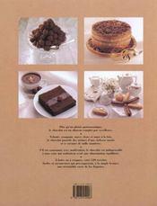 Le Chocolat : Fondre De Plaisir - 4ème de couverture - Format classique