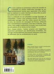 Sauvages et médicinales ; plantes remèdes pour nos petits maux - 4ème de couverture - Format classique